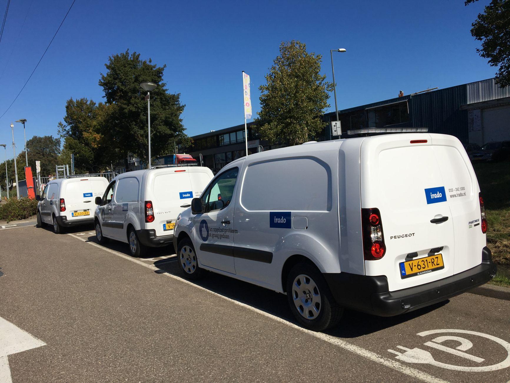 Irado Verduurzaamt Wagenpark Schiedam24