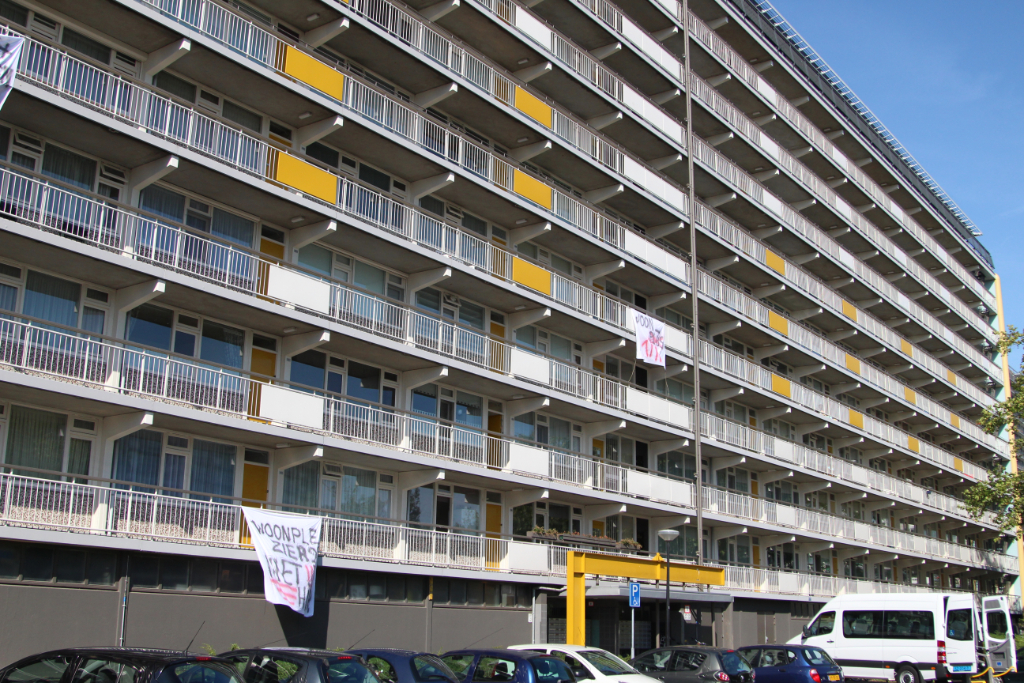 Woonplus: arrestatie Bachplein los van overlast