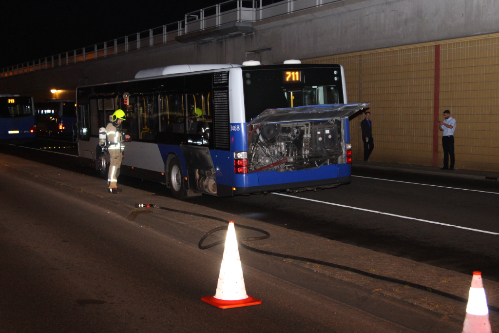 Bus Hoekse Lijn oververhit