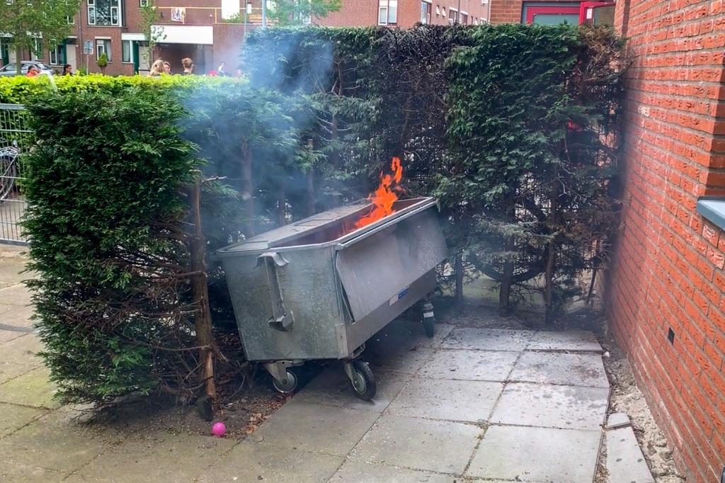 Brand dicht bij kinderdagverblijf