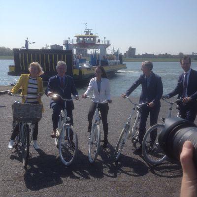 Schiedam heeft qua wandelen en fietsen nog wel wat te doen