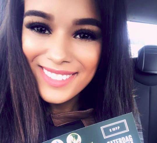 Schiedamse dingt mee naar titel Miss Latina Nederland