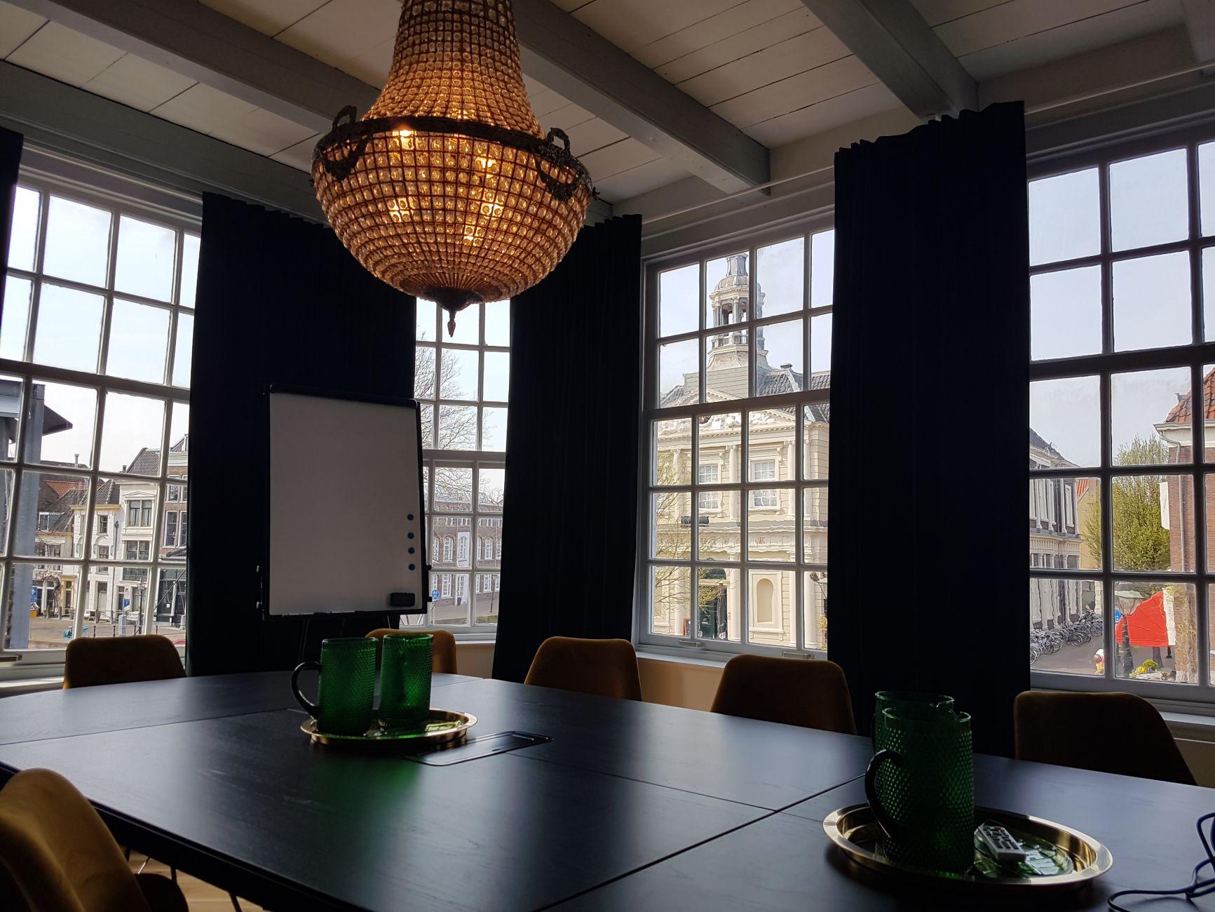 Negen flexwerkplekken in Schiedam op zijn mooist