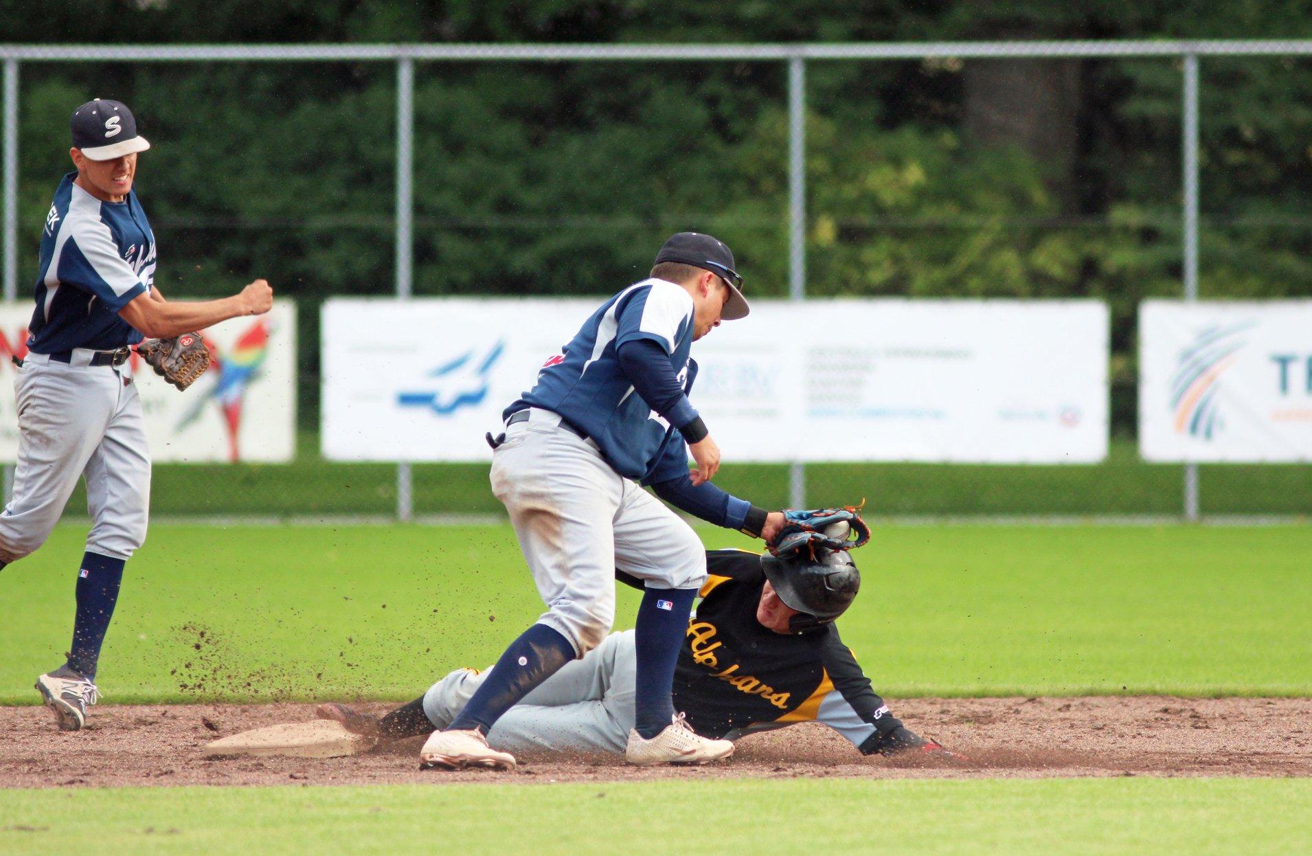 Pijnlijk verlies honkballers Schiedam
