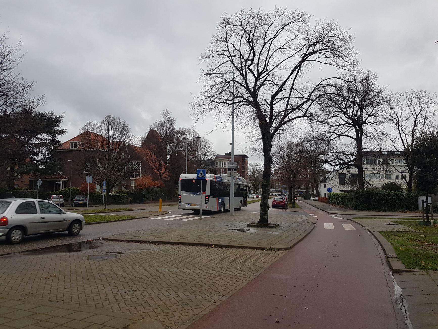 Elektrische bus rijdt al