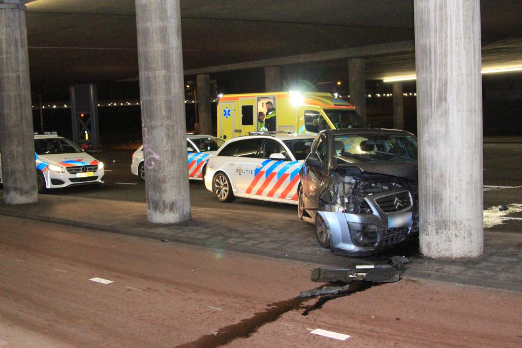 Achtervolging uit hoofdstad eindigt in Schiedam
