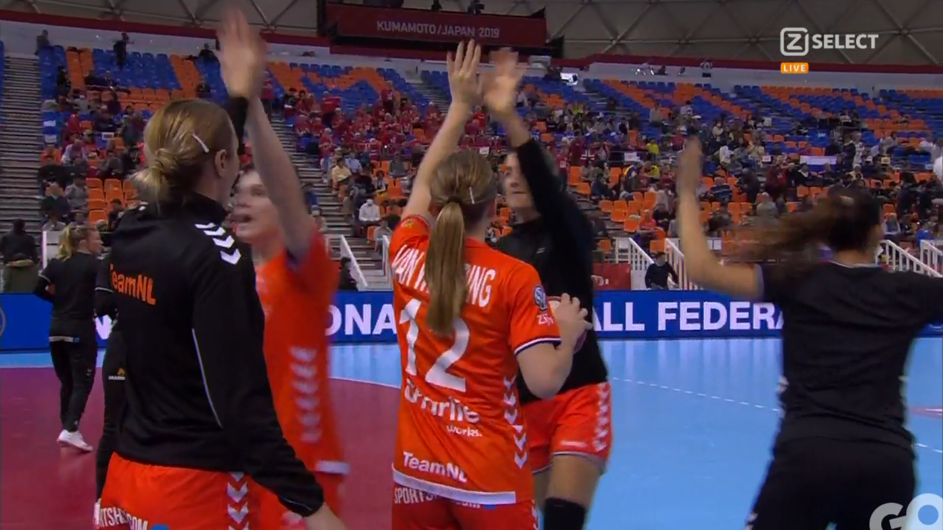 Oranje in halve finale tegen Rusland