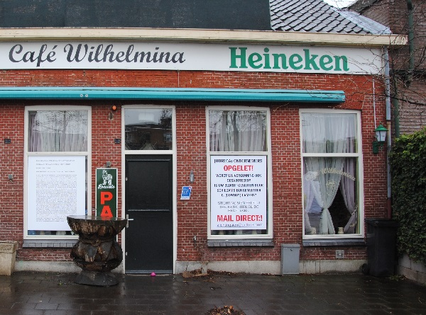 Café Sien door gemeente gesloten