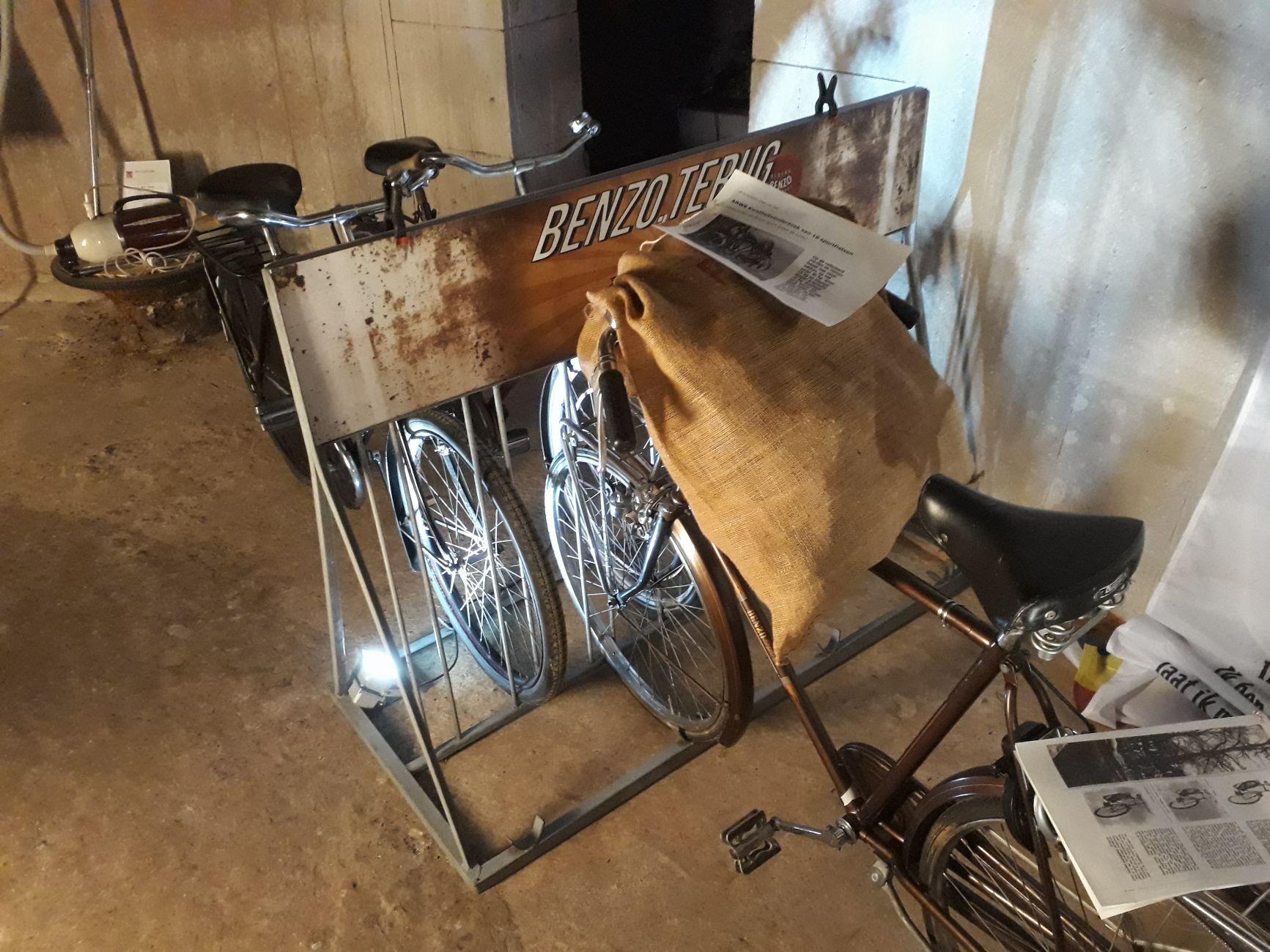 Benzo-fietsen in Vlaardingse Watertoren