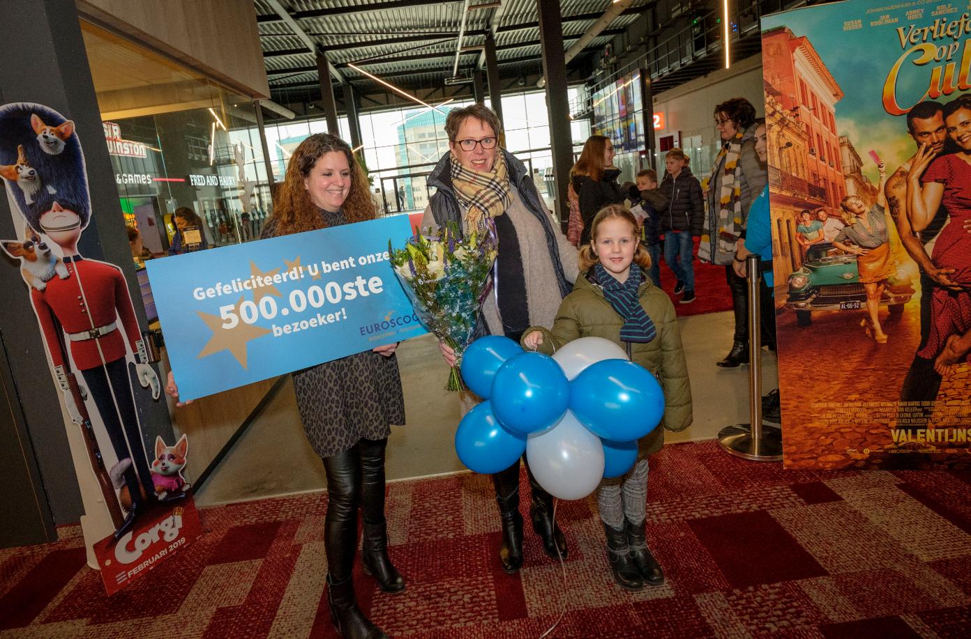 Half miljoen bezoekers bij Euroscoop