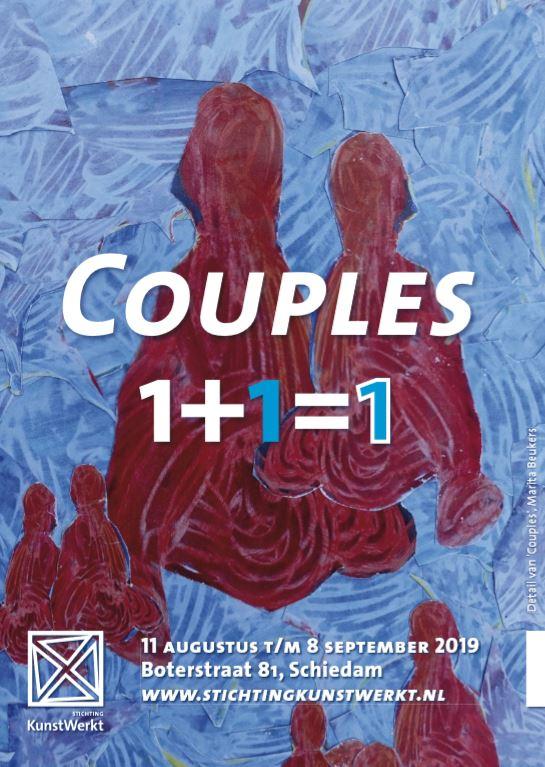 Echte trouwerij bij opening tentoonstelling Couples