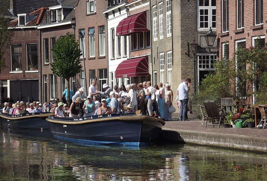 Met de fluisterboot voor twee euro