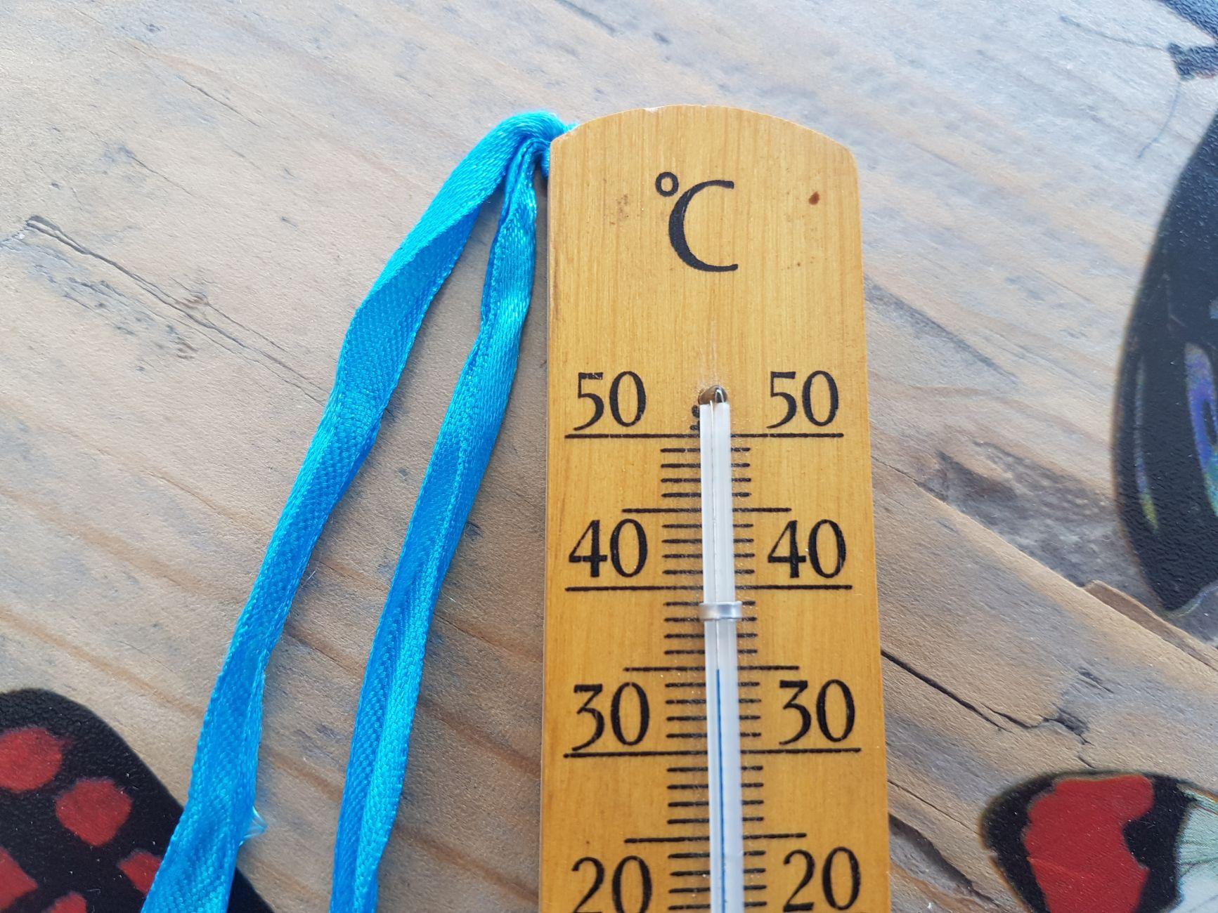 Het wordt warm, heel warm