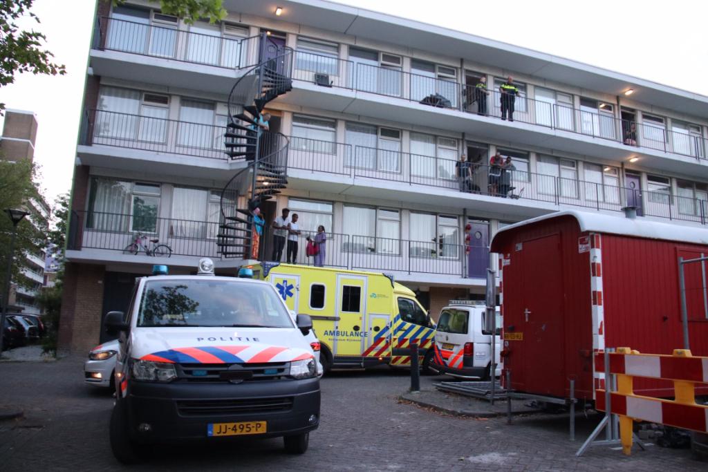 Aanhoudingen en gewonde op H. Bosmansplein