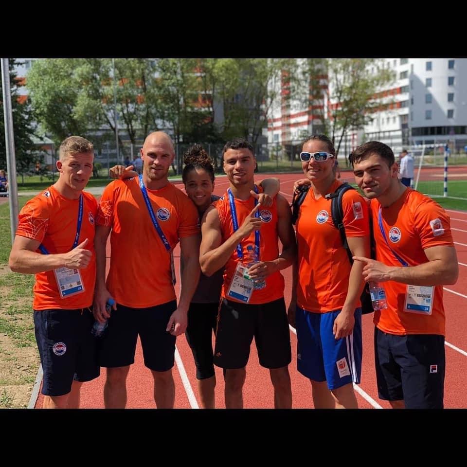 Fontijn wint eerste partij op Europese Spelen