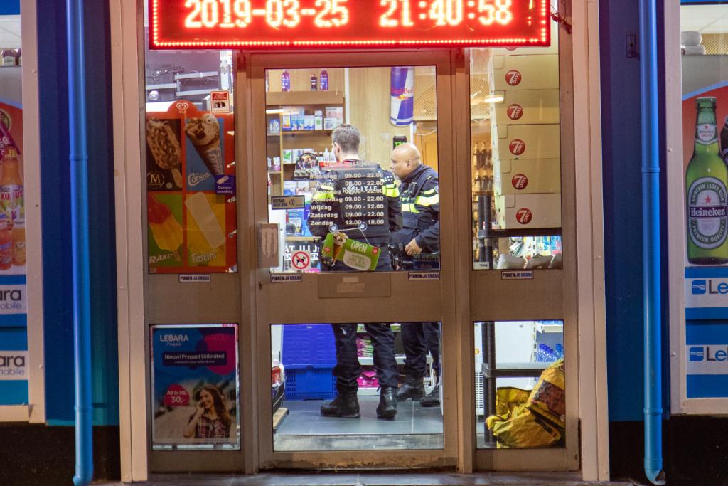 Poolse supermarkt overvallen