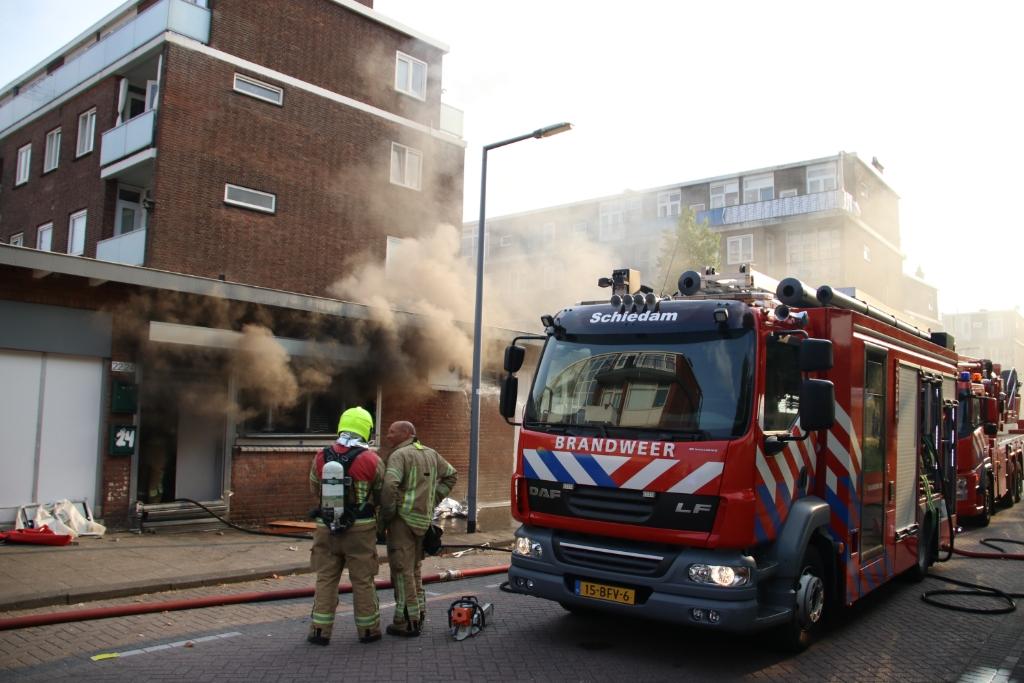 Forse daling opgespoorde wietplantages in Schiedam