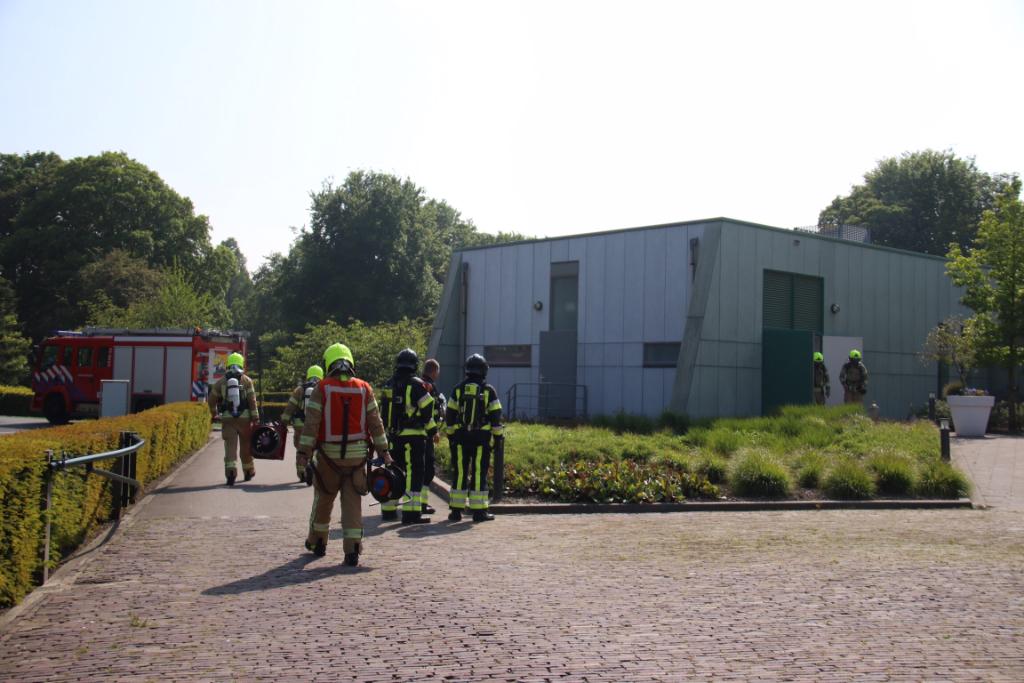 Brand in het crematorium