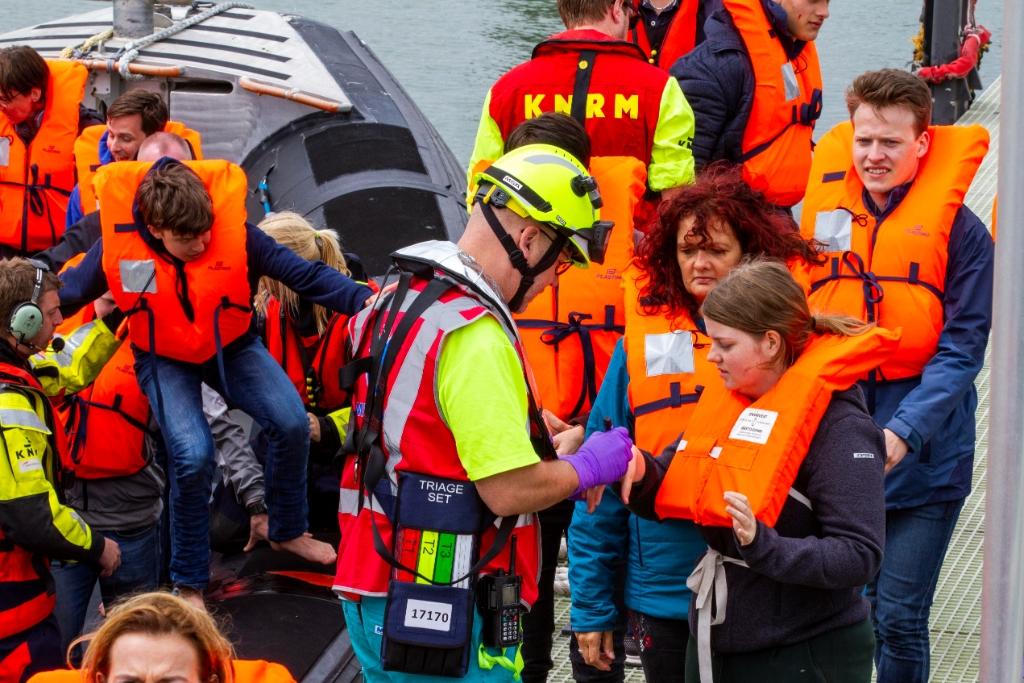 Livex: oefening met evacuatie van honderden ferrypassagiers