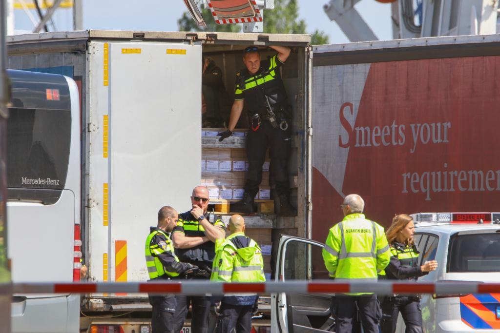 Meeste inklimmers DFDS moeten Nederland verlaten