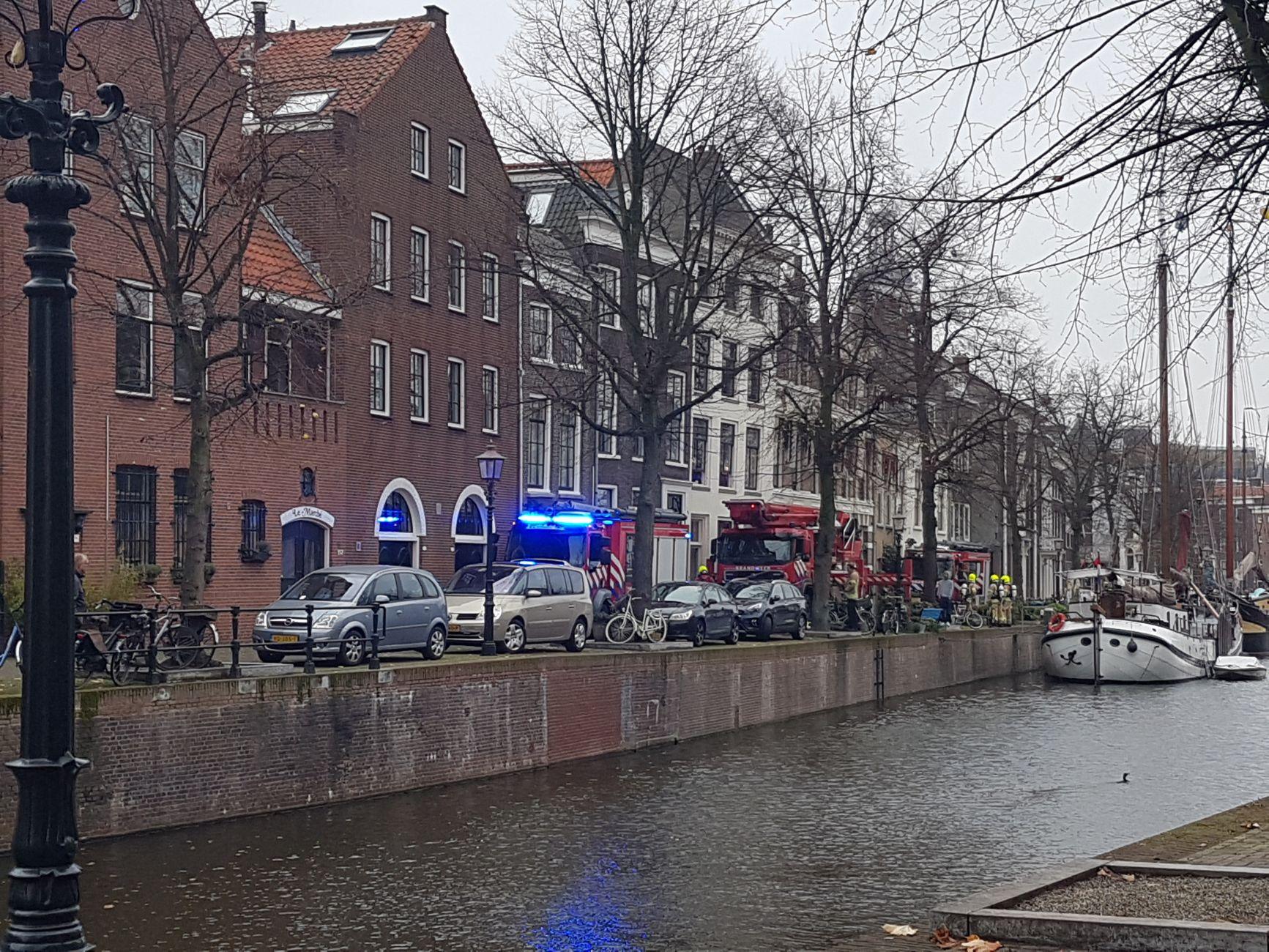Brand op Lange Haven