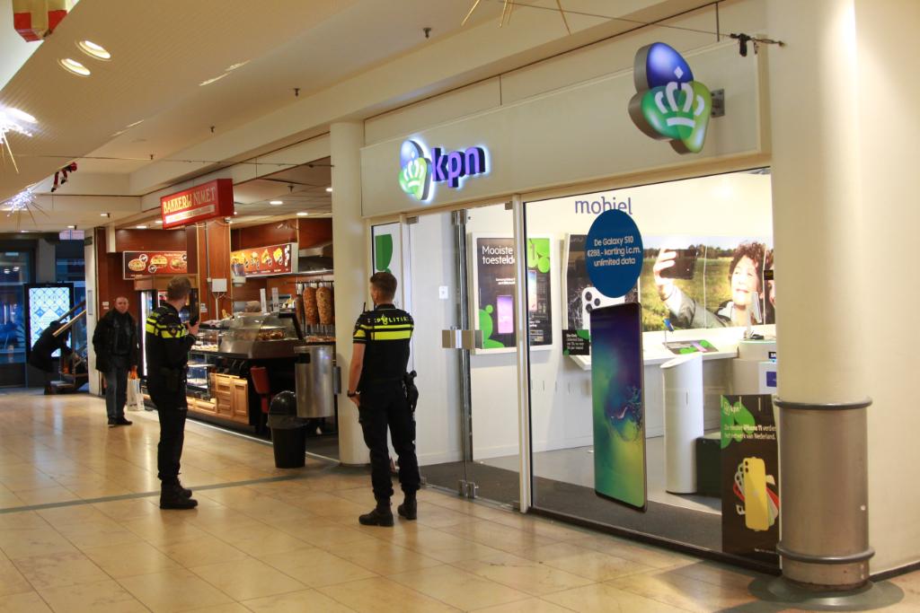 KPN-winkel Passage overvallen