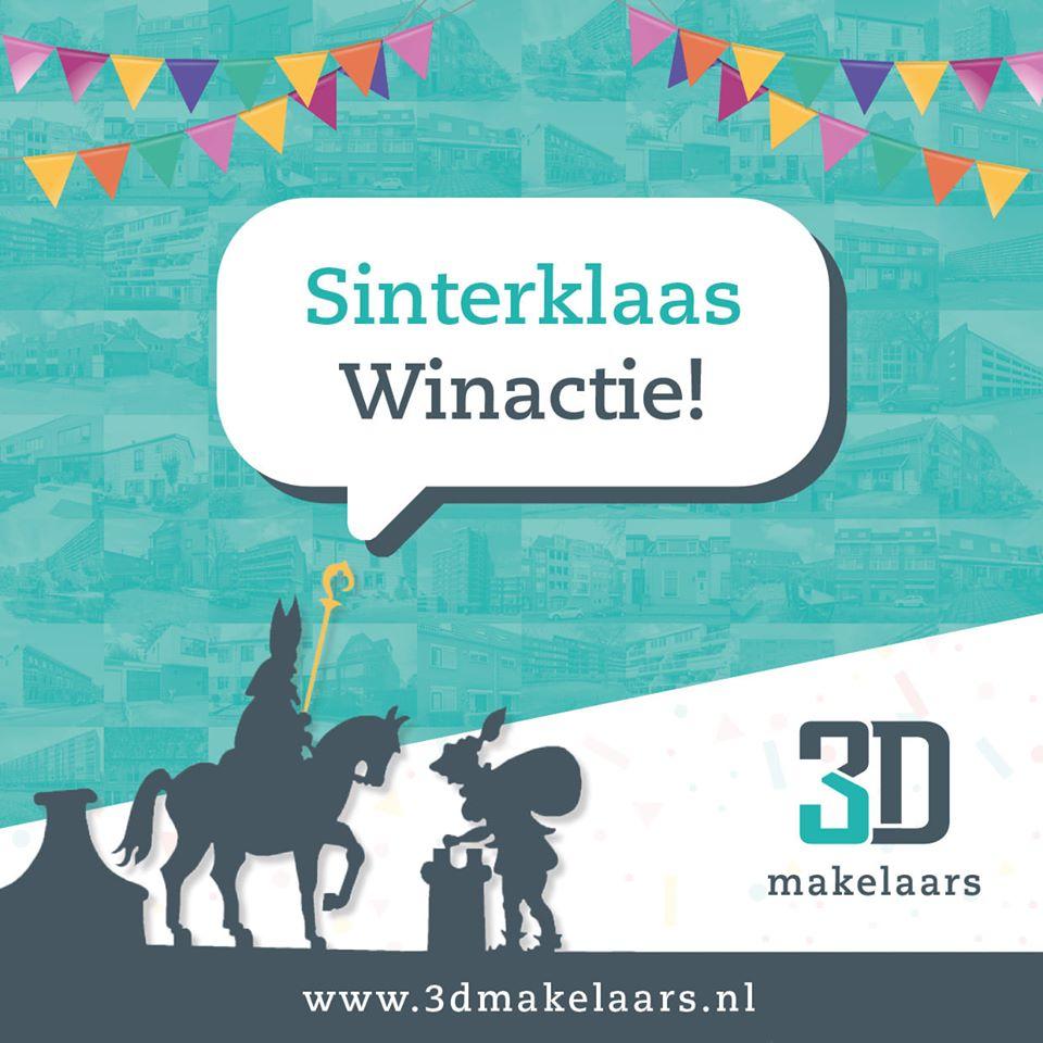 Sinterklaas-winactie bij 3D Makelaars