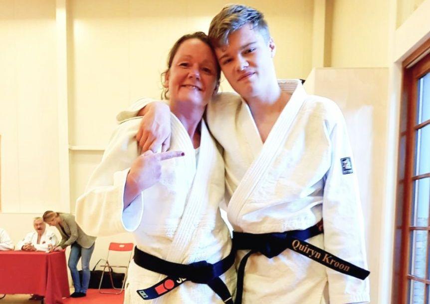 Meer mijlpalen voor Schiedamse judoka's