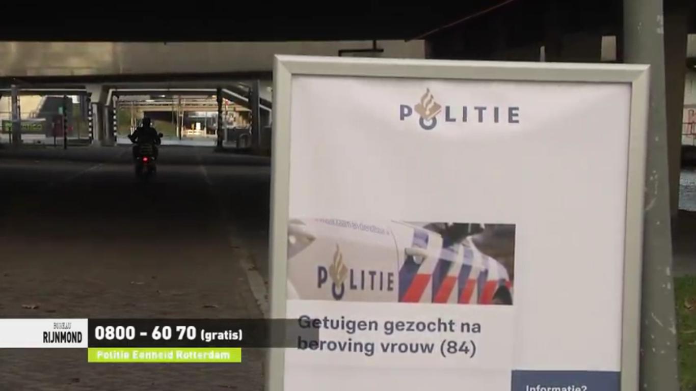 Hausse aan straatroven in Schiedam