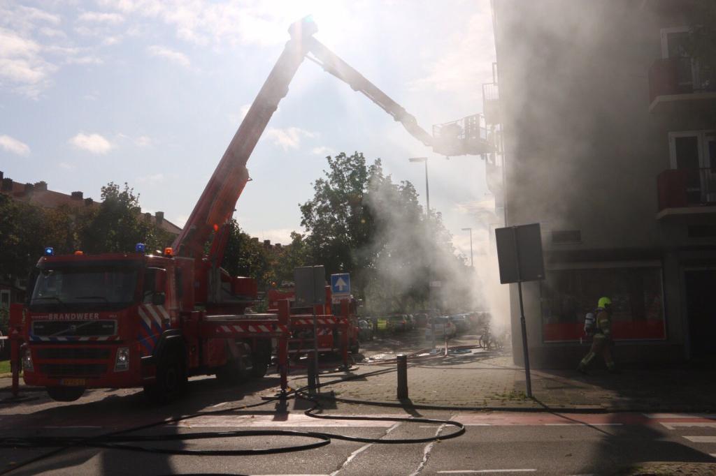 Grote Brand in Lorentzlaan