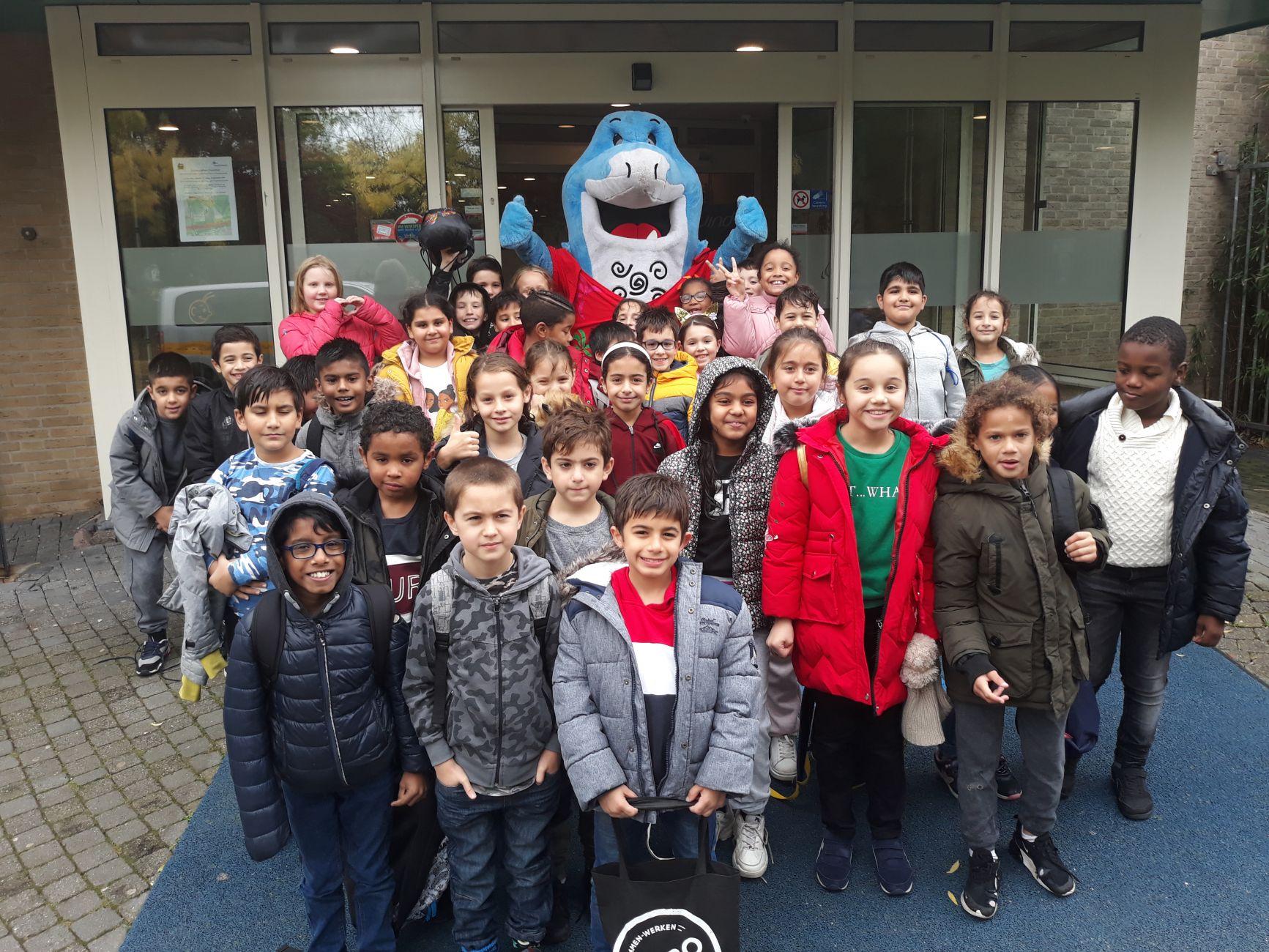 De Peperklip start met schoolzwemmen in Groenoord