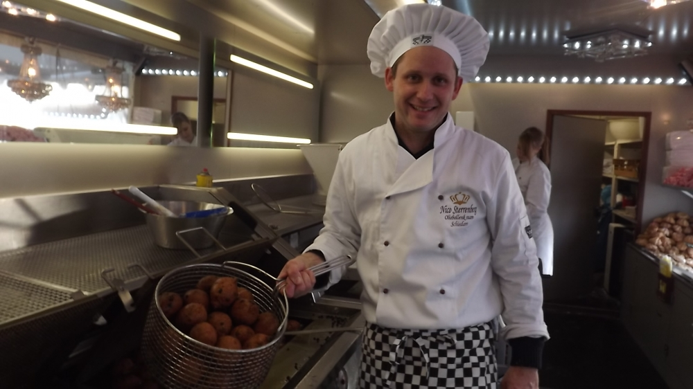 Nico Sterrenberg: 'Best een mooie plek op de Koemarkt'