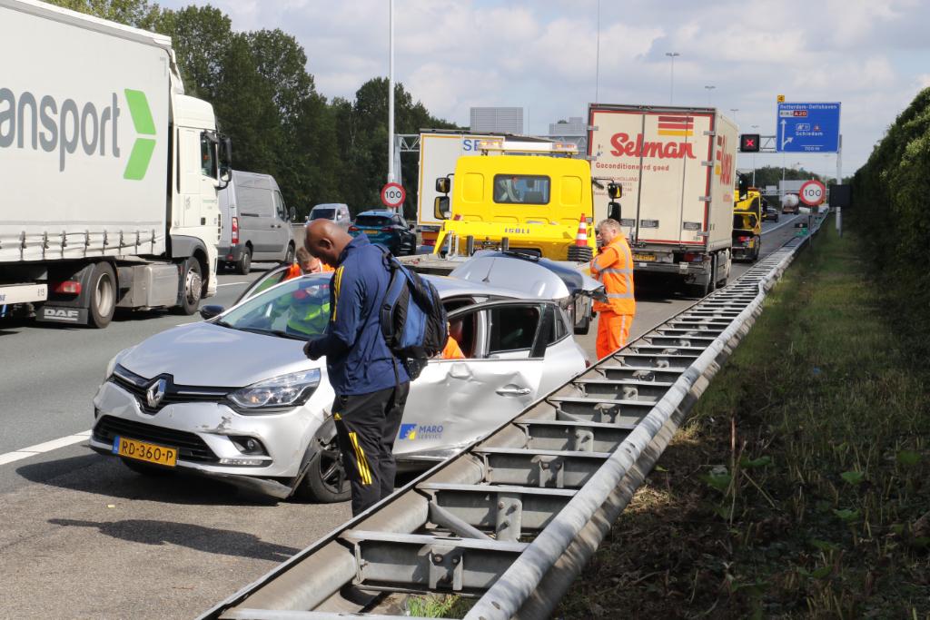Ongeval op A20
