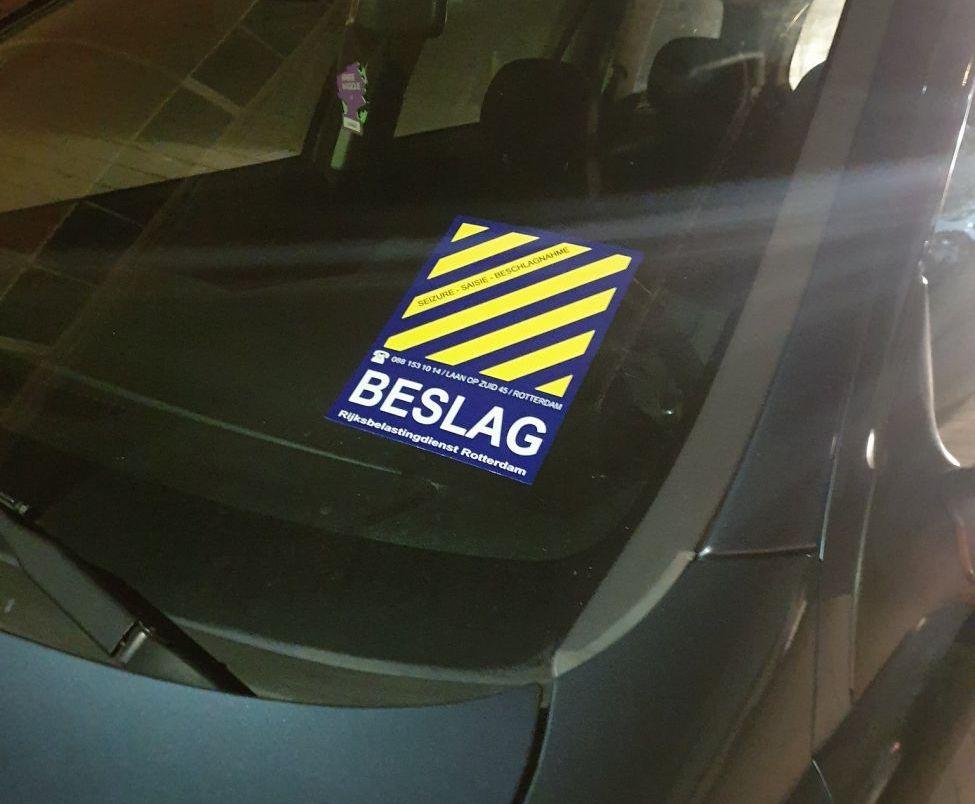 Zeven auto's in beslag genomen bij anti-ondermijningsactie