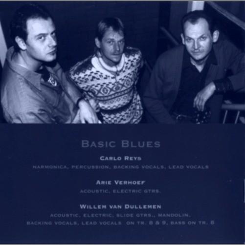 Carlo Reijs blies blues in zijn mondharmonica