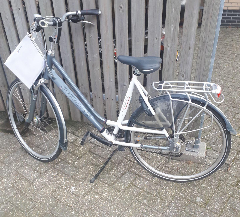 Deze fiets is niet van de fietsendief