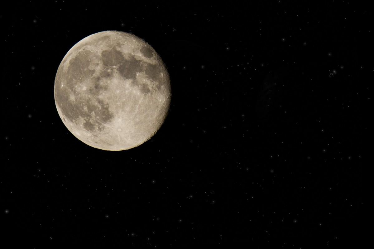 Supermaan vannacht goed te zien