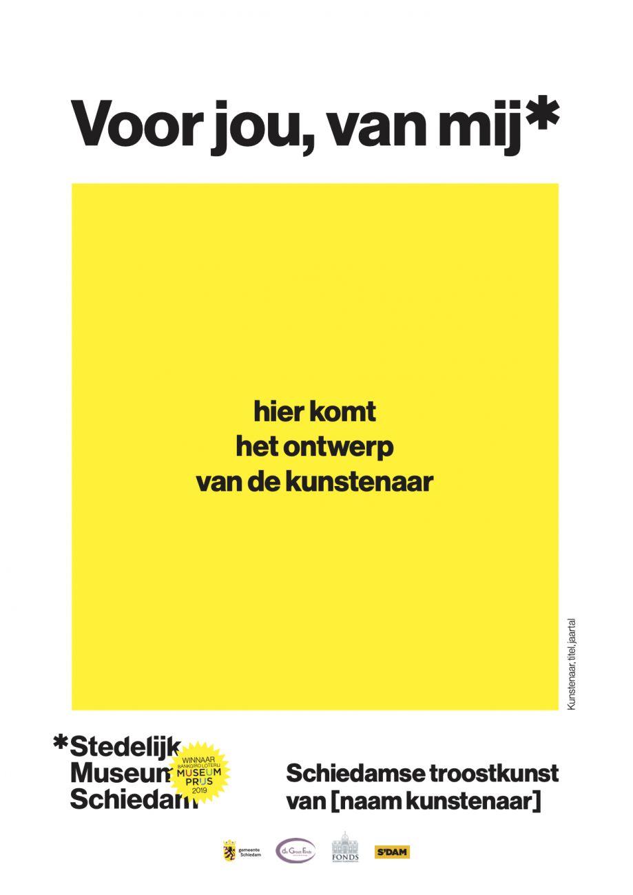 Stedelijk Museum Schiedam vraagt Schiedamse kunstenaars om troostkunst