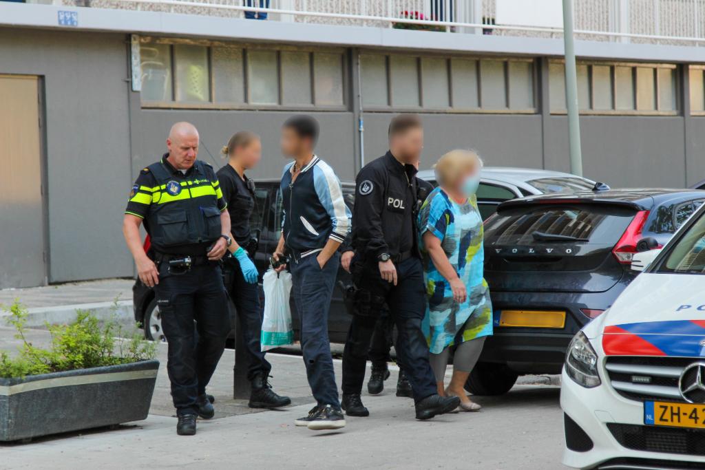 Overvallers aangehouden op Bachplein