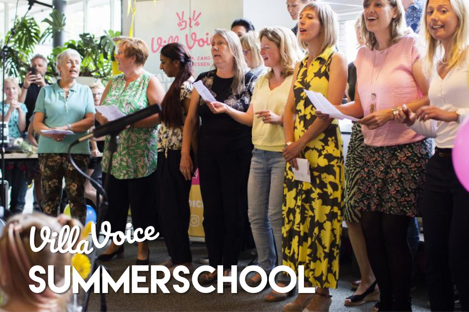 Summerschool van Villa Voice