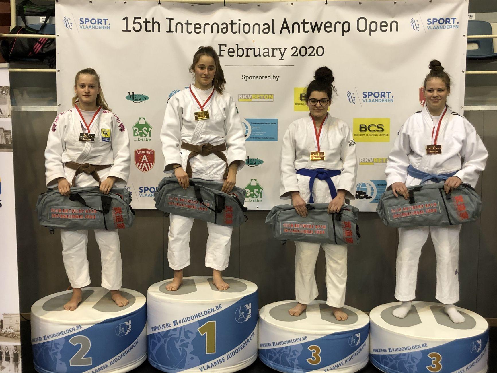 Lieke Breedveld wint zilver in Antwerpen