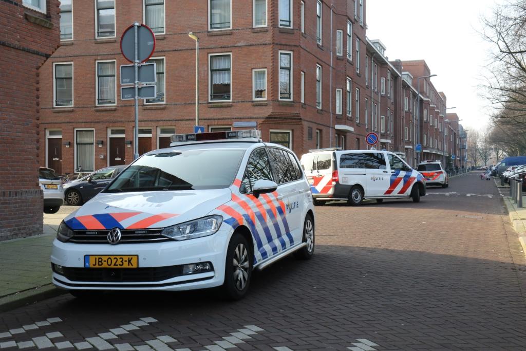 Arrestaties na bedreiging in Nieuwe-Westen