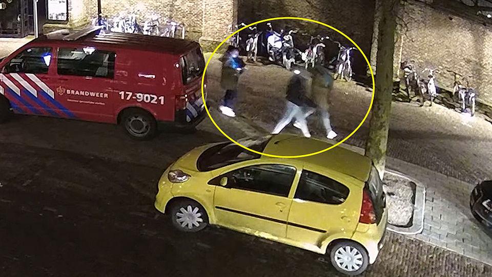 Beelden van mogelijke daders moord Boomgaardstraat