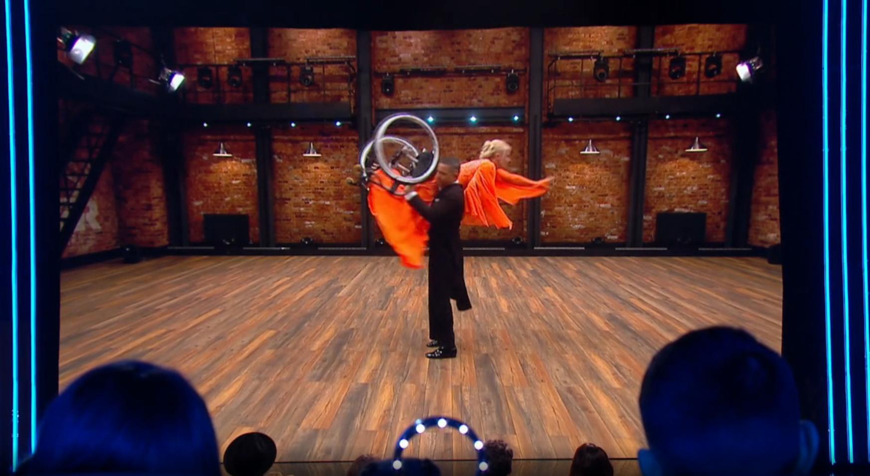 Jacqueline en Alex tonen 'de wereld' hun dansen