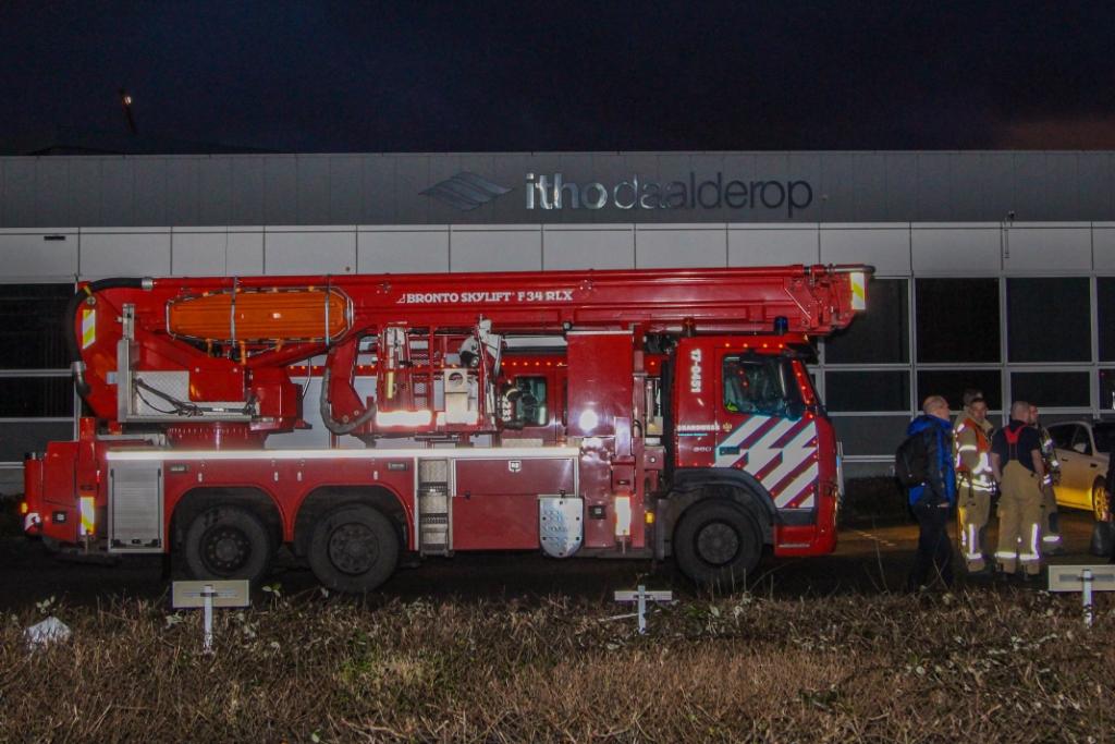 Brand bij Itho Daalderop