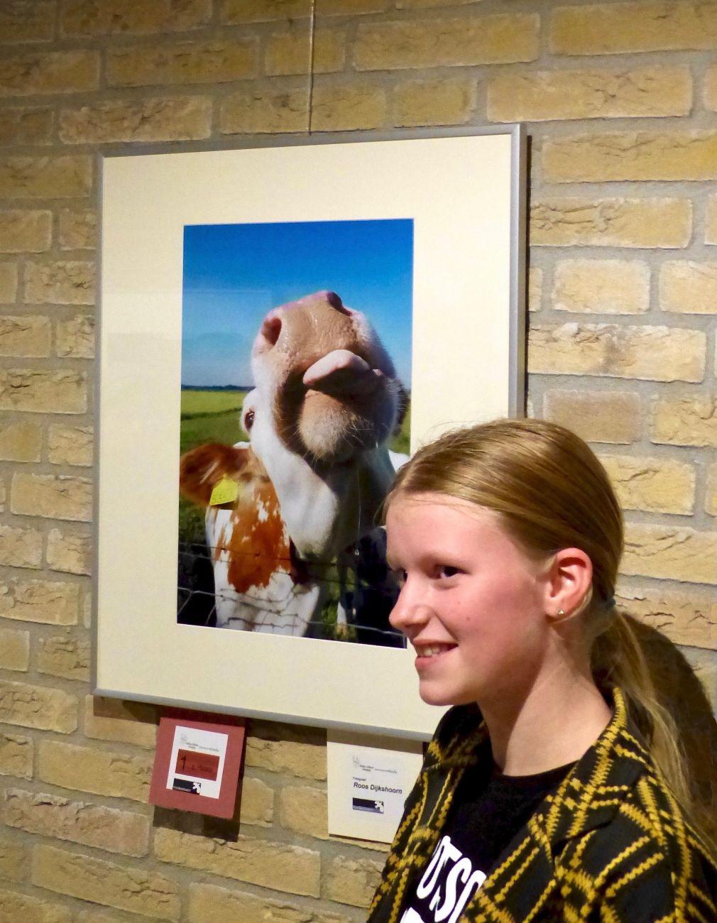 Roos wint fotowedstrijd over stilte naast de stad