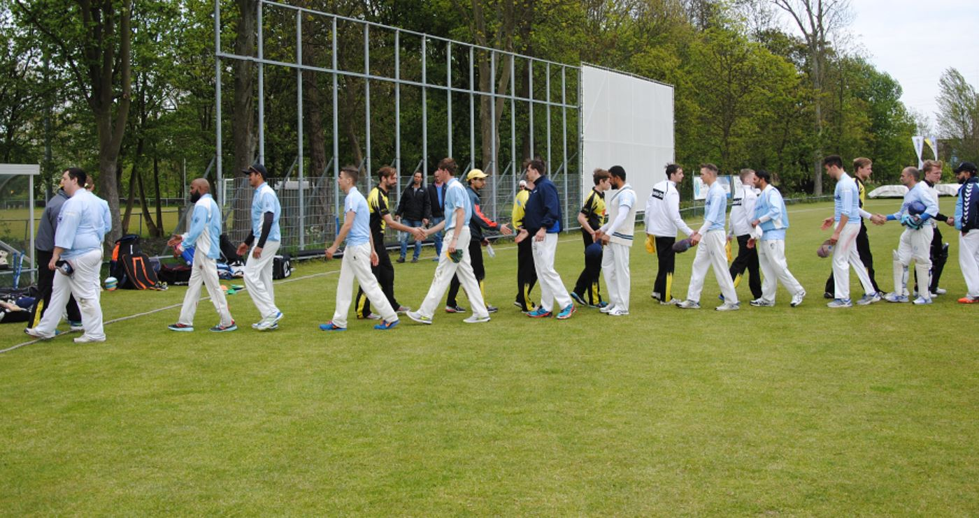 Dé Schiedamse cricketderby is op Thurlede