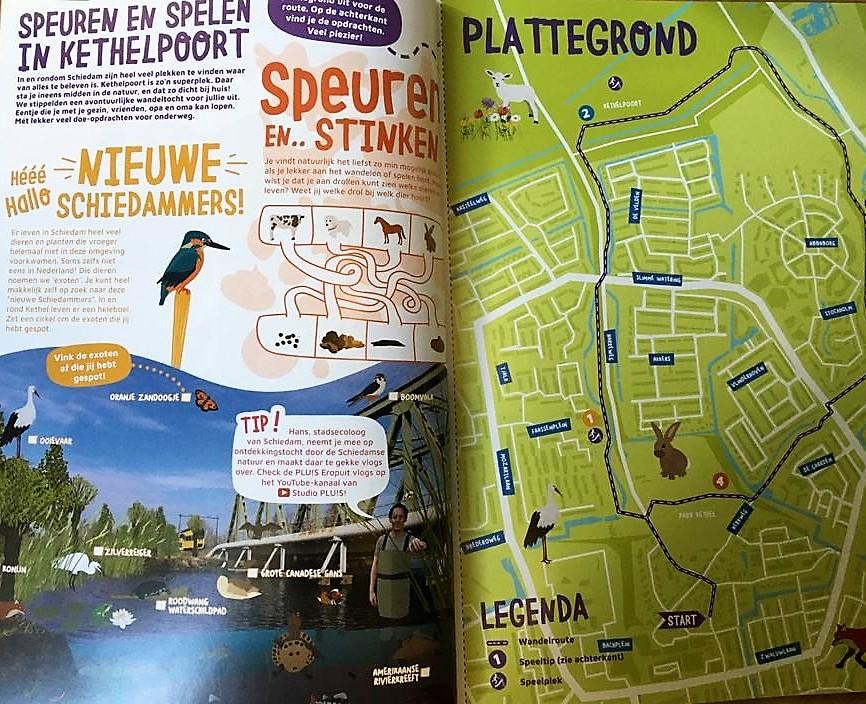 Gratis zomerboek voor alle kinderen in Schiedam
