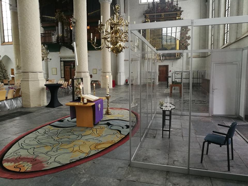 Vieringen vanuit Grote Kerk online te volgen