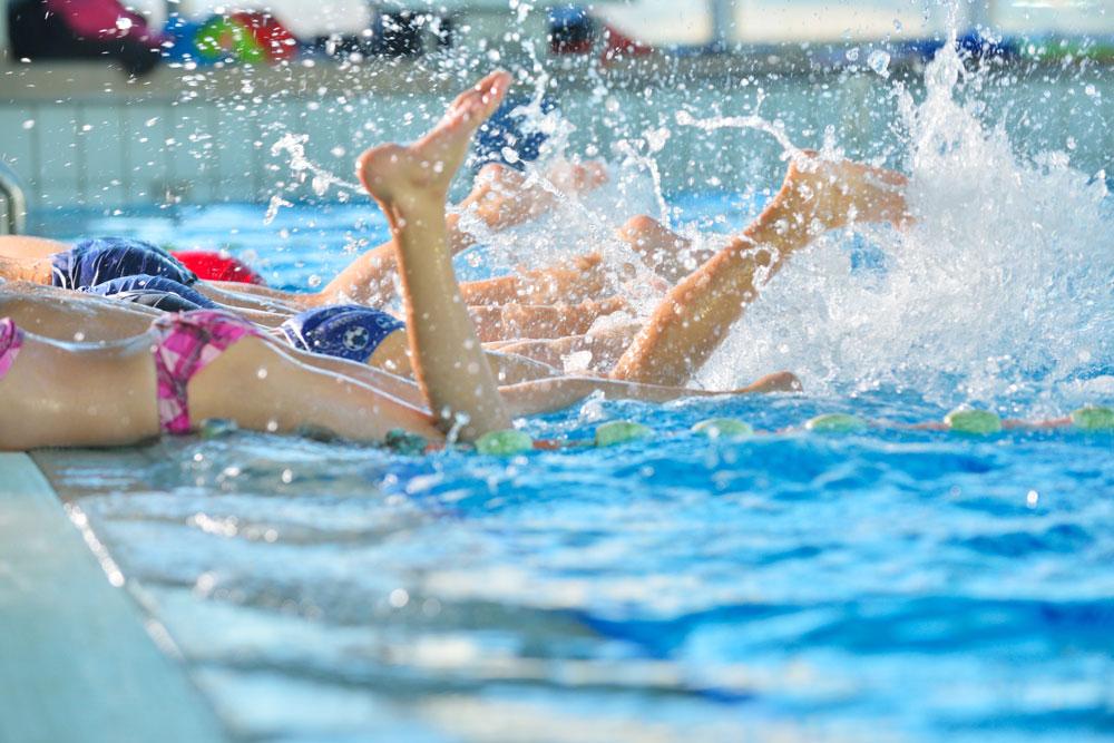 Recreatief zwemmen op Tweede Pinksterdag